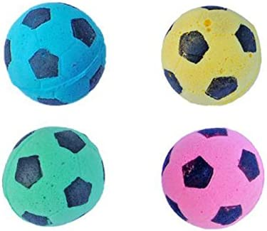PETFAVORITES Foam Soccer Balls Cat Toys - Pack of 12 4