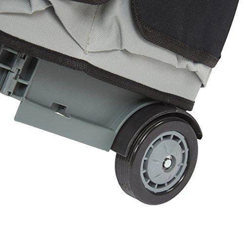 ECR4Kids MemoryStor Universal Rolling Cart and Organizer Bag Set, Black by ECR4Kids (Image #8)
