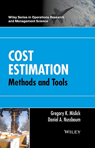 Cost Estimation: Methods and Tools (Wiley Series in Operations Research and Management Science) (Cost Estimation Software)