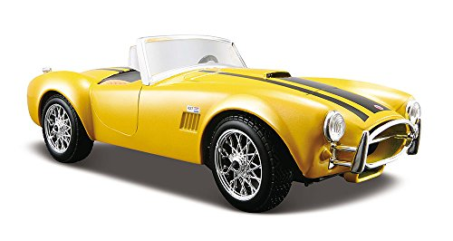 Maisto 1:24 Scale 1965 Shelby Cobra 427 Diecast Vehicle (Colors May Vary) Scale 1965 Shelby