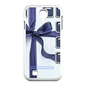 Bow to the Samsung Galaxy S4 Case Hardshell for Girls, Cell Phone Case for Samsung Galaxy S4 Mini [White]