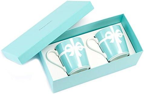 buy online fb733 c6dba Amazon|ティファニー TIFFANY&Co マグカップ ブルー リボン ...