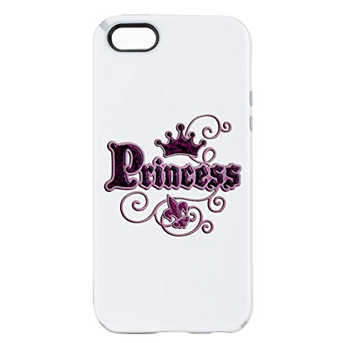 iPhone 5 or 5S Tough Candy Case Fleur De Lis Princess