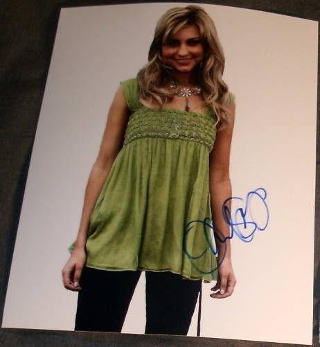 "Chelsea Staub Signed Autograph ""jonas La"" Promo Photo A"