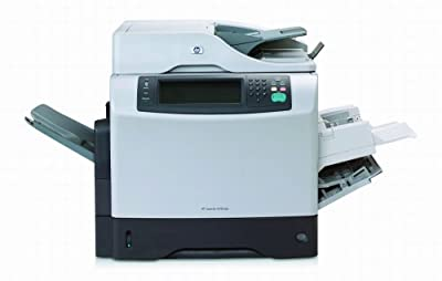 HP LaserJet 4345mfp - Multifunction ( printer / copier / scanner ) - B/W - laser - copying (up to): 43 ppm - printing (up to): 43 ppm - 500 sheets - parallel, 10/100 Base-TX