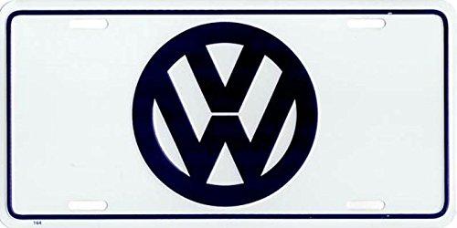 Volkswagen Logo Metal License Plate Cruising International