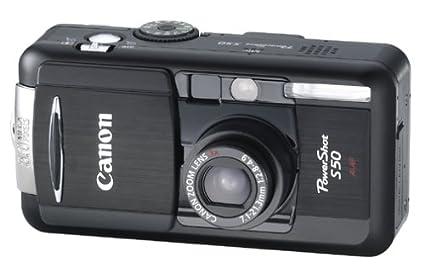 amazon com canon powershot s50 5mp digital camera w 3x optical
