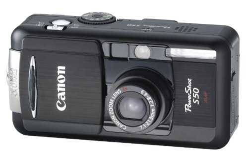 Canon PowerShot S50 5MP Digital Camera w/ 3x Optical Zoom