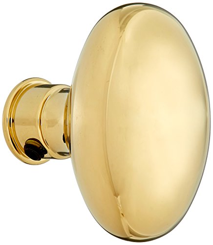 Baldwin Hardware 5025.003.MR Estate Oval Knob Indoor Door (Baldwin Egg)