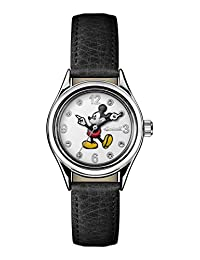 Ingersoll Women's Automatic Metal and Leather Casual Watch, Color:Black (Model: ID00902)