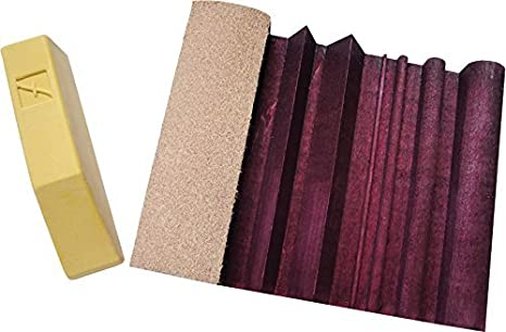 Flexcut Slipstrop Flexcut Gold Polishing Compound Included, Home for Polishing and Deburring V-Tools and Gouges PW12 StealStreet