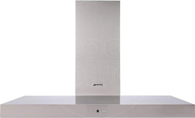 Smeg KAT900HXE De pared Acero inoxidable 750m³/h B - Campana (750 m³/h, B, A, D, 62 dB, 46 dB): 246.91: Amazon.es: Hogar
