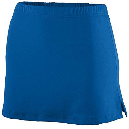 Augusta Sportswear equipo de poliéster/Spandex de las mujeres falda Royal