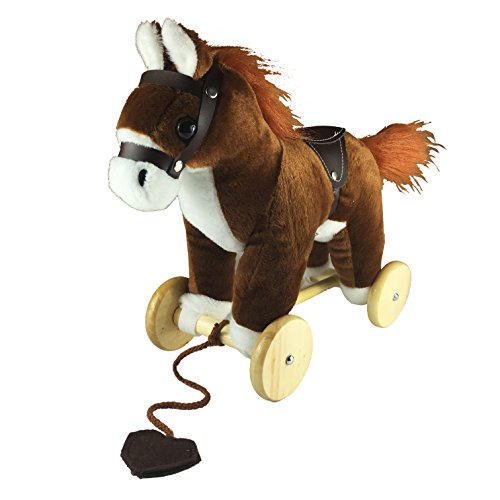 Pulling Animal (DanyBaby Cute Pulling Horse With Simulative Animal Sound- ASTM Safety Approved)