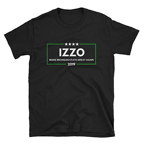 (Libertee Shirts Izzo 2019 Make Michigan State Great Again Unisex T-Shirt Funny Spartans Izzo)