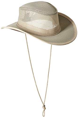 Stetson Men's Mesh Covered Hat, Clay, Medium