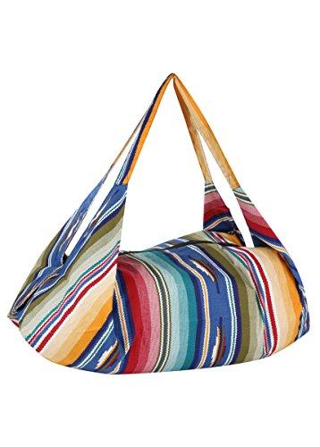 Sac bandoulière ou sac à dos en coton bio Pangden Print
