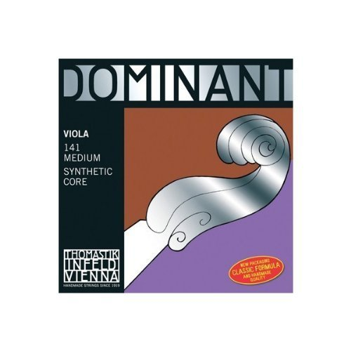 Thomastik Dominant Viola Set D,G,C w/ Jargar Ball End A, Medium Gauge, Long Scale