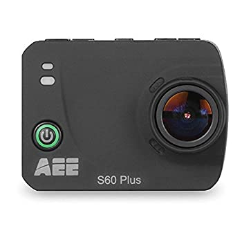 Image of AEE Technology S60 Plus 1080P 60FPS 16MP HD LCD TFT Display Wifi Time Lapse Action Camera with Waterproof Case (Black) Sports & Action Video Cameras