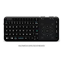 Rii i15 Backlit Mini Wireless Handheld Remote Keyboard with Touchpad and Multimedia function, Work for PC,Raspberry Pi 2,3 Android TV Box ,Windows 7 8 10(US Layout)