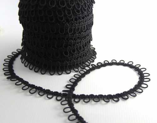 Nakpunar Black Elastic Button Loops product image