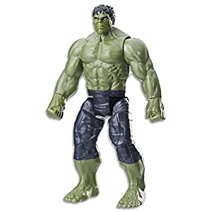 "Marvel AVENGERS - 12"" Hulk Power FX Action Figure - Titan Hero Series - Infinity War - Kids Super Hero Toys - Ages 4+"