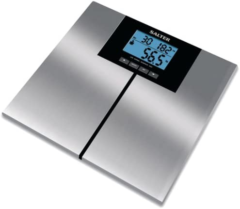 Salter Bodywise 9117 Stainless Steel Analyser Scale Amazon Co Uk Health Personal Care