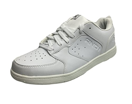 AND1 Providence Low Retro Basketball Shoes White