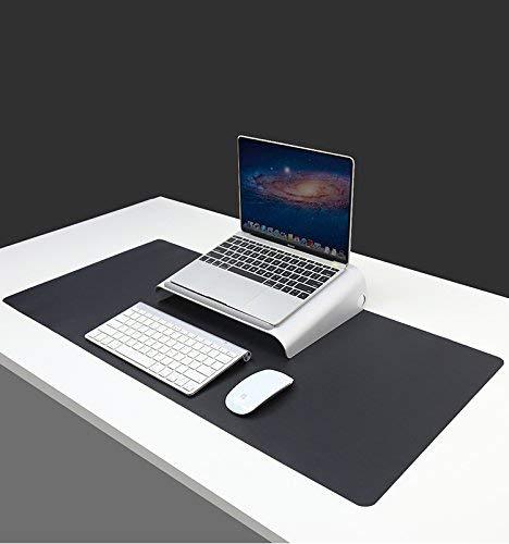 Multifuncional computadora de oficina pad, sorpad Ultra fina piel de PU resistente al agua mouse pad, doble uso alfombrilla...