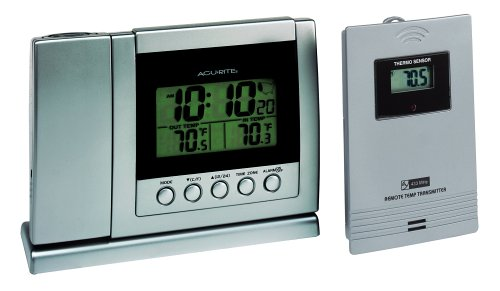Chaney Instrument Wireless Thermometer and Projection Clock