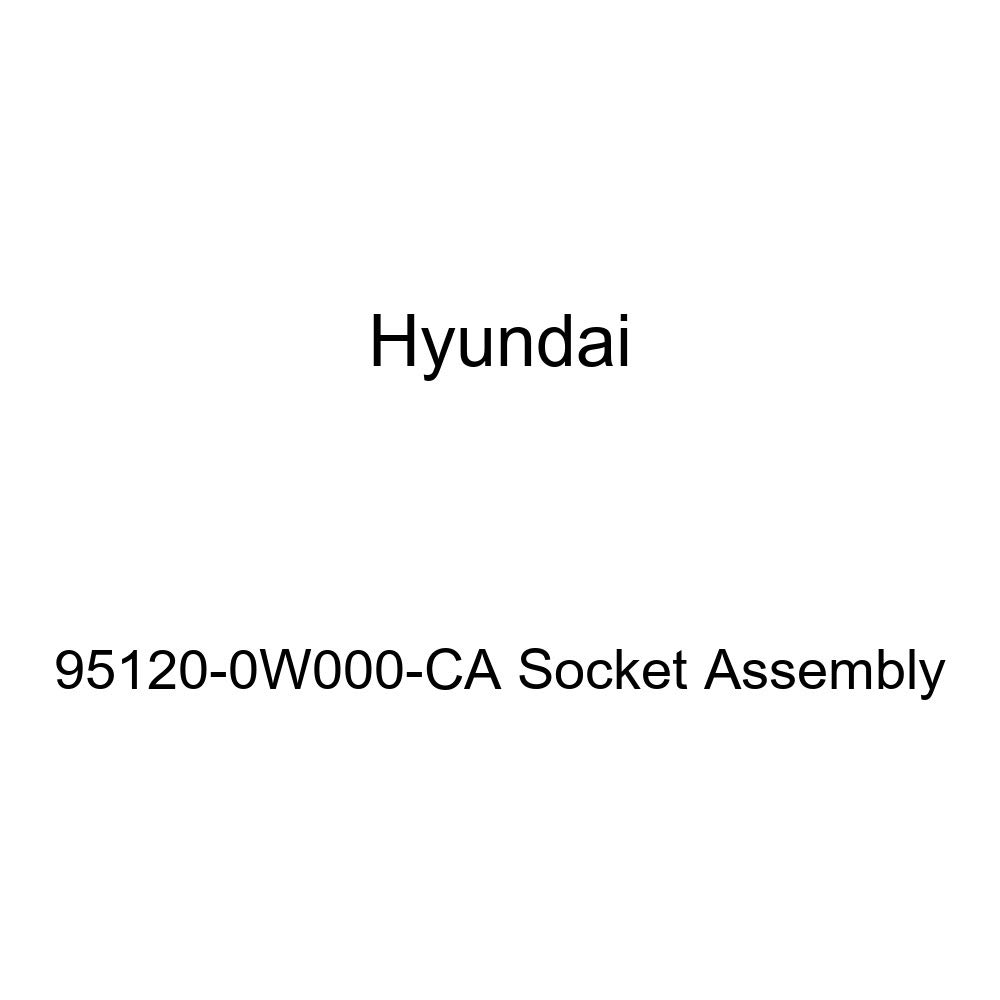 Genuine Hyundai 95120-0W000-CA Socket Assembly
