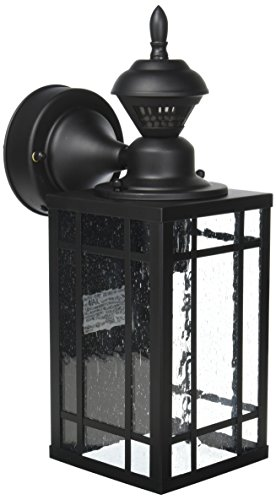 Heath/Zenith HZ-4152-BK Shaker Poiont Mission 150 Degree Motion-Activated Light, 8.28x 6.13x 6.13