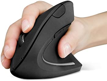 Anker 2.4G Wireless Vertical Ergonomic Optical Mouse (Black)