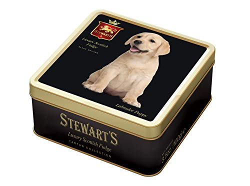 Stewart's Luxury Fudge Bites, Labrador Dog, 3.5 oz Tins