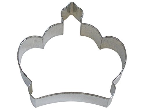 R&M Crown Imperial Cookie Cutter, 3.5-Inch, in Durable, Economical, Tinplated Steel