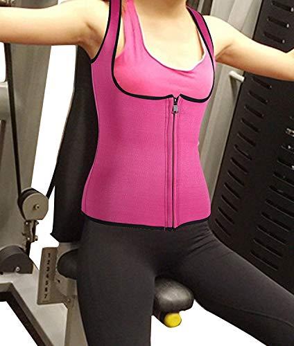 添加高度入射ursexylyネオプレンサーモホットサウナシェイパーウエストトレーナーお腹の肩スリム