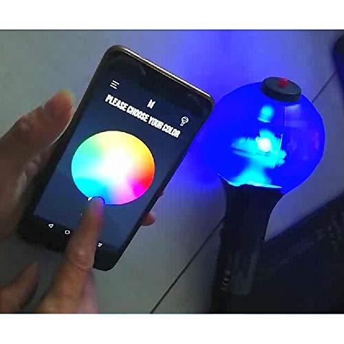 Aufind Official Kpop BTS Lightstick Ver.3 Bangtan Boys LED Light Concert Army Bomb, Color Changing by Bighit Factory (Image #5)