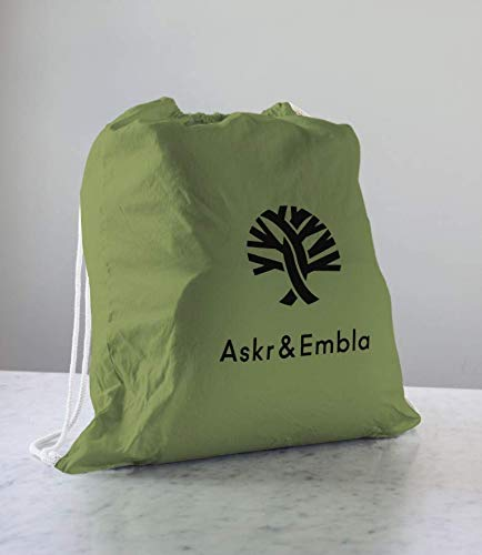 Askr & Embla Sleepod Original Baby-Sleeper - Perfect for Napping, Lounging, Tummy time & Travel. Organic & Hypoallergenic - Suitable from 0-7 Months. 100% Wool Puddle pad and Travel Bag (Olive Green) by Askr & Embla (Image #6)
