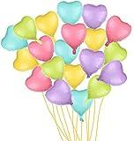 20pcs/lot Heart Shape Foil Mylar Helium Balloon