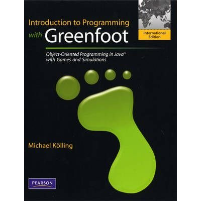 [ INTRODUCTION TO PROGRAMMING WITH GREENFOOT OBJECT-ORIENTED PROGRAMMING IN JAVA WITH GAMES AND SIMULATIONS BY KOLLING, MICHAEL](AUTHOR)PAPERBACK