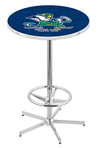 Holland Bar Stool L216C Notre Dame (Leprechaun) Officially Licensed Pub Table, 28