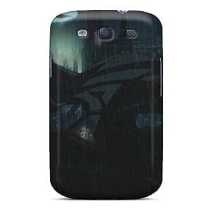 Slim Fit Tpu Protector Shock Absorbent Bumper Batman Gotham Knight Case For Galaxy S3