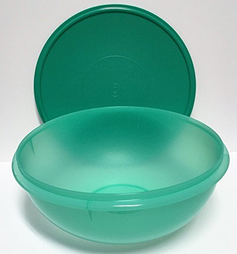 Tupperware Fix N Mix Bowl 26 cups Laguna Green