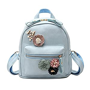 Flowers Backpack Fresh Style Backpacks For Teenage Girls School Bags