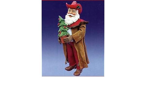 Amazon.com : kurt adler fabriche *western santa* cowboy santa