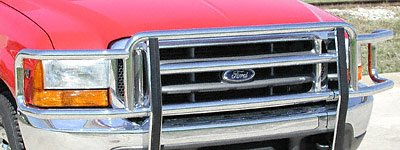 Industries Big Tex Grille Guards - Go Industries 77640 Chr Big Tex Grille Guard