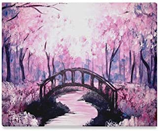Amazon Com Enevotx Wall Art Painting Delicate Beautiful Acrylic Ideas Homes Prints On Canvas The Picture Landscape Pictures Oil For Home Modern Decoration Print Decor Living Room Kitchen