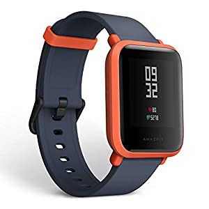 Amazfit Huami Bip Touch Screen Smartwatch A1608 (Cinnabar Red)