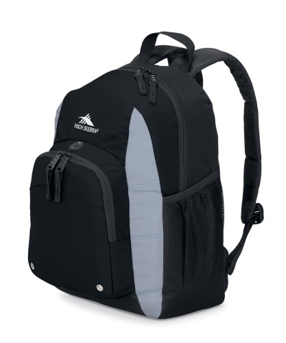 High Sierra Impact Backpack (Black), Outdoor Stuffs