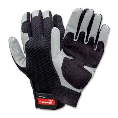RTSY7711L - WELL LAMONT MechPro Plus Work Gloves with Padded Palm